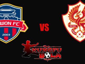 Suwon -FC- vs -Gwangju- FC