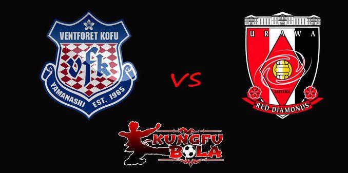 Ventforet Kofu vs Urawa Red Diamonds