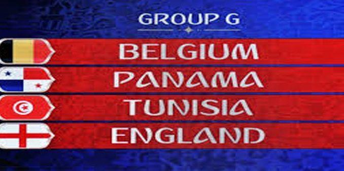 tabel grup G piala dunia