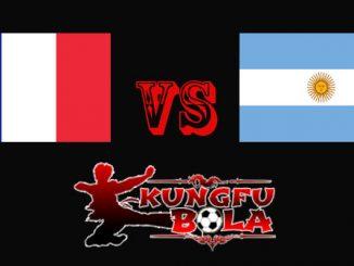 Perancis vs Argentina