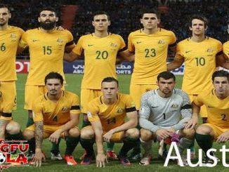 profil tim Australia piala dunia 2018