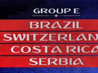 tabel grup E piala dunia