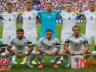 profil tim inggris piala dunia 2018
