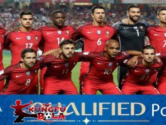 profil tim Portugal piala dunia 2018