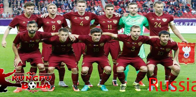 profil tim rusia piala dunia 2018