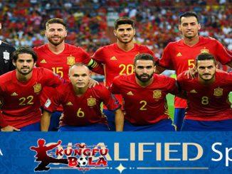 profil tim spanyol piala dunia 2018