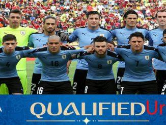 profil tim uruguay piala dunia 2018