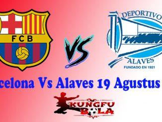 Barcelona Vs Alaves 19 Agustus 2018