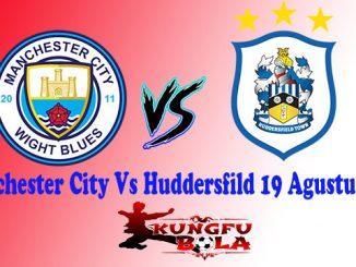 Manchester City Vs Huddersfild 19 Agustus 2018
