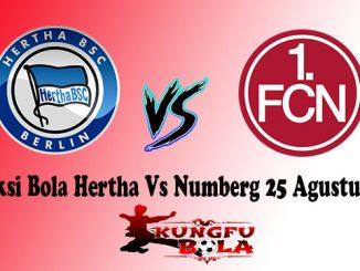 Prediksi Bola Hertha Vs Numberg 25 Agustus 2018