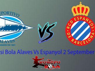 Prediksi Bola Alaves Vs Espanyol 2 September 2018