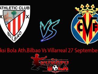 Prediksi Bola Ath.Bilbao Vs Villarreal 27 September 2018