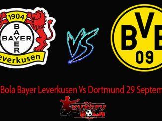 Prediksi Bola Bayer Leverkusen Vs Dortmund 29 September 2018