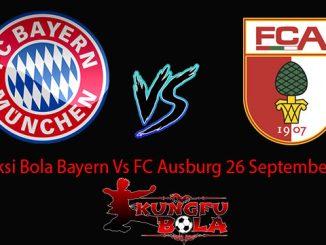 Prediksi Bola Bayern Vs FC Ausburg 26 September 2018