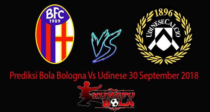 Prediksi Bola Bologna Vs Udinese 30 September 2018
