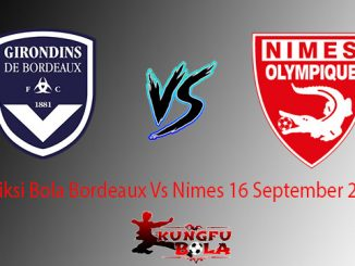Prediksi Bola Bordeaux Vs Nimes 16 September 2018