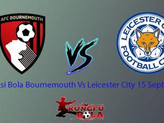 Prediksi Bola Bournemouth Vs Leicester City 15 September
