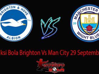 Prediksi Bola Brighton Vs Man City 29 September 2018