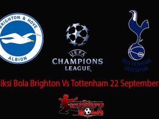 Prediksi Bola Brighton Vs Tottenham 22 September 2018