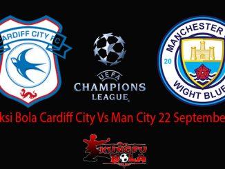 Prediksi Bola Cardiff City Vs Man City 22 September 2018