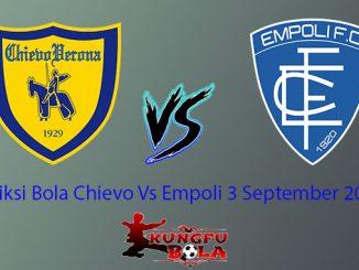 Prediksi Bola Chievo Vs Empoli 3 September 2018