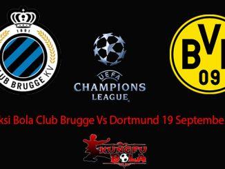 Prediksi Bola Club Brugge Vs Dortmund 19 September 2018
