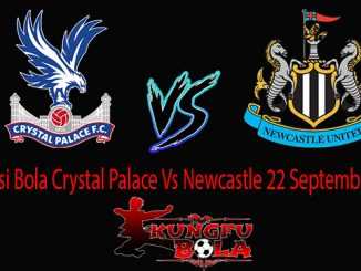 Prediksi Bola Crystal Palace Vs Newcastle 22 September 2018
