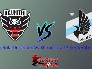 Prediksi Bola Dc United Vs Minnesota 13 September 2018