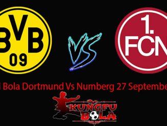 Prediksi Bola Dortmund Vs Numberg 27 September 2018