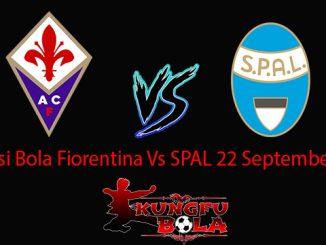 Prediksi Bola Fiorentina Vs SPAL 22 September 2018