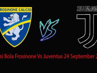 Prediksi Bola Frosinone Vs Juventus 24 September 2018