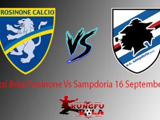 Prediksi Bola Frosinone Vs Sampdoria 16 September 2018