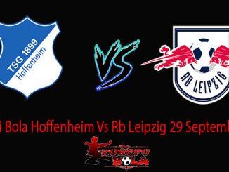 Prediksi Bola Hoffenheim Vs Rb Leipzig 29 September 2018
