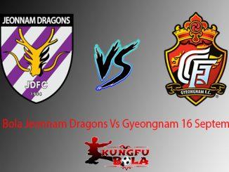 Prediksi Bola Jeonnam Dragons Vs Gyeongnam 16 September 2018