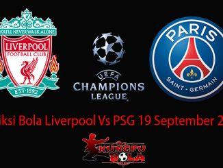 Prediksi Bola Liverpool Vs PSG 19 September 2018