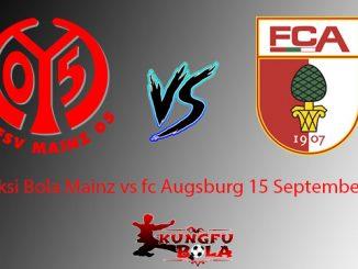 Prediksi Bola Mainz vs fc Augsburg 15 September 2018
