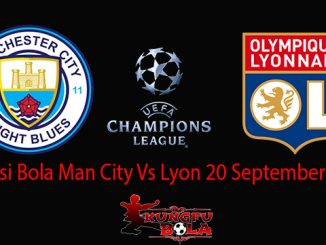 Prediksi Bola Man City Vs Lyon 20 September 2018