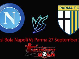 Prediksi Bola Napoli Vs parma 27 September 2018