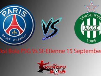 Prediksi Bola PSG Vs St-Etienne 15 September 2018