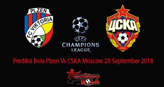Prediksi Bola Plzen Vs CSKA Moscow 20 September 2018