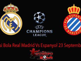 Prediksi Bola Real Madrid Vs Espanyol 23 September 2018