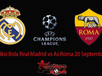 Prediksi Bola Real Madrid vs As Roma 20 September 2018