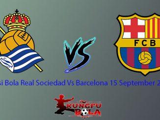 Prediksi Bola Real Sociedad Vs Barcelona 15 September 2018