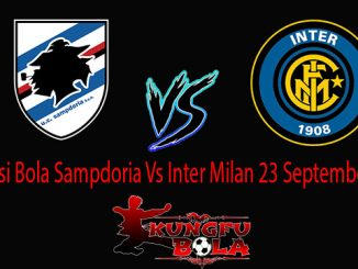 Prediksi Bola Sampdoria Vs Inter Milan 23 September 2018