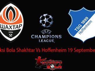 Prediksi Bola Shakhtar Vs Hoffenheim 19 September 2018