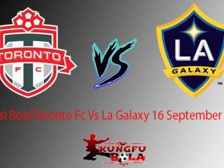 Prediksi Bola Toronto Fc Vs La Galaxy 16 September 2018