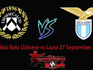 Prediksi Bola Udinese vs Lazio 27 September 2018