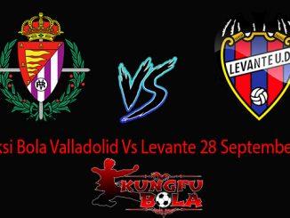 Prediksi Bola Valladolid Vs Levante 28 September 2018
