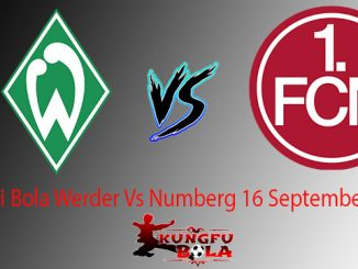 Prediksi Bola Werder Vs Numberg 16 September 2018