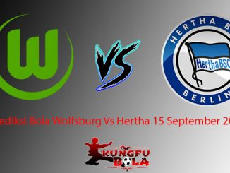 Prediksi Bola Wolfsburg Vs Hertha 15 September 2018
